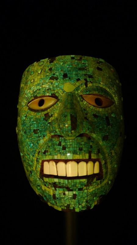大英博物馆,绿松石镶嵌面具