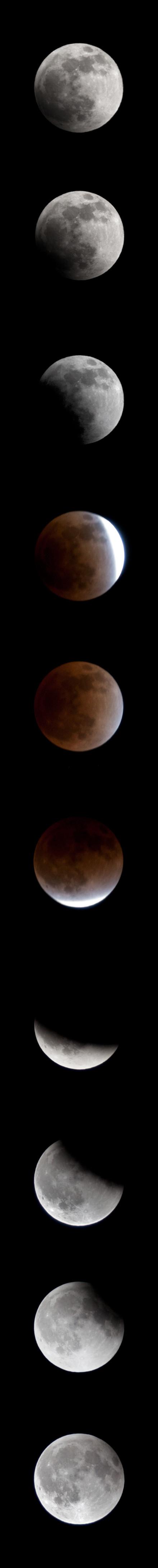 2011年12月10日,月全食