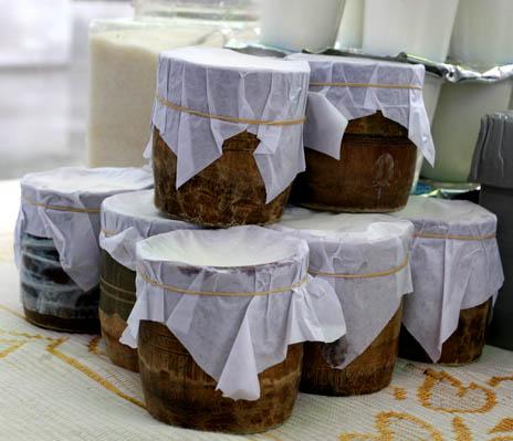 拉萨的竹筒酸奶