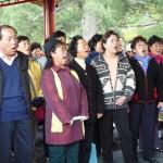 合唱团——景山公园一景