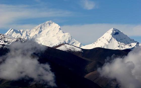 世界第五高峰马卡鲁