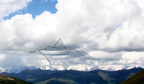 云中的南迦巴瓦