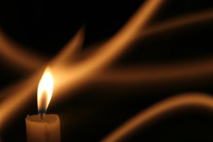 candle-longexposure