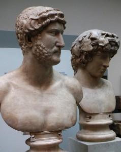 哈德良和安提诺乌斯·大英博物馆
