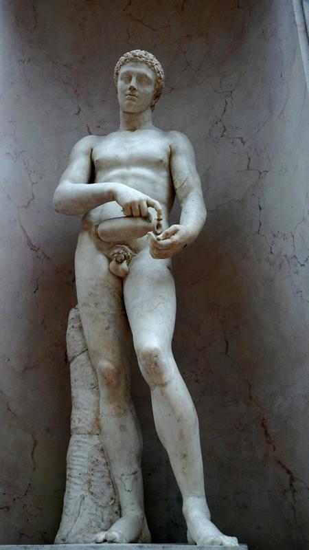 涂油的运动员·卢浮宫