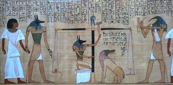 死者之书之冥界审判·大英博物馆