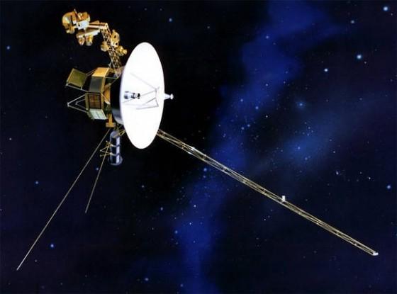 旅行者1号进入星际空间(想象图,来源NASA)