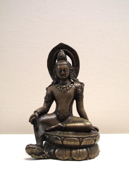 铜观音菩萨坐像·国家博物馆