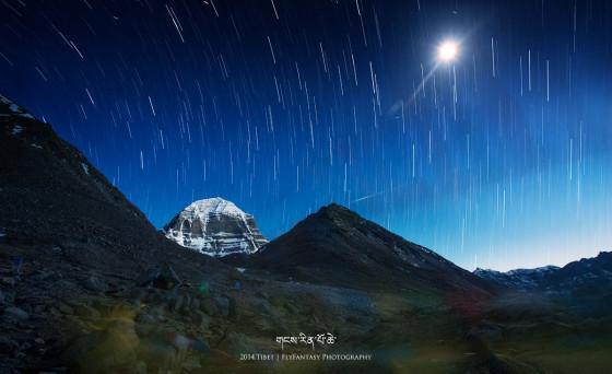 冈仁波齐和星迹