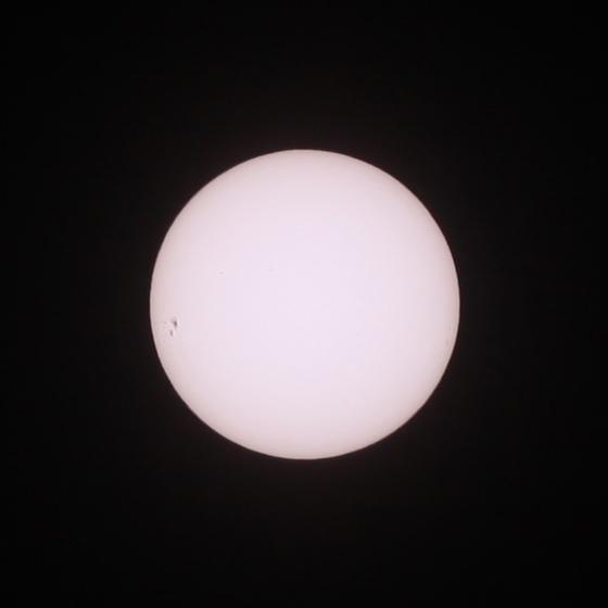2014年1月3日的太阳黑子