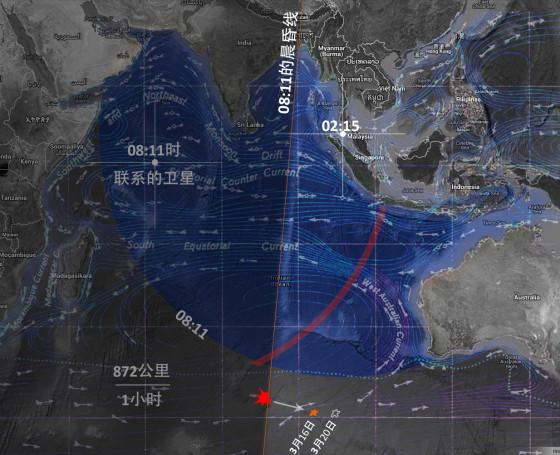 MH370印度洋分析图