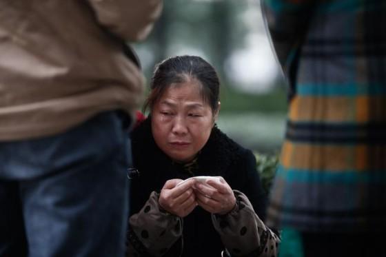 复旦大学投毒案受害者黄洋的母亲 图片来自网络