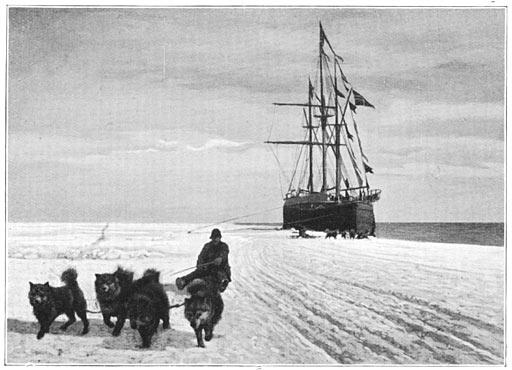 阿蒙森的南极考察