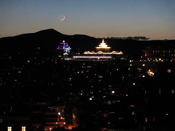 新月和水星,2015年5月19日