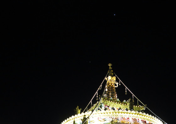 坛城上的木火相合与金星