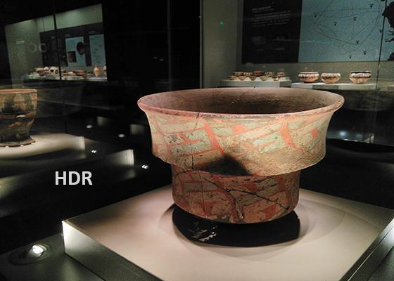 陶寺文化·彩绘陶盆·使用HDR拍摄