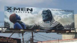 《X战警·天启》海报被指歧视女性 图片来源腾讯动漫新闻